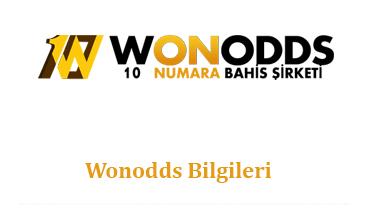 Wonodds Bilgileri