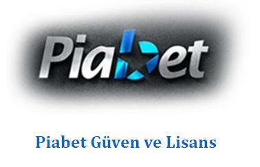 Piabet Güven ve Lisans